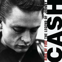 JOHNNY CASH ( NEW SEALED CD ) RING OF FIRE / THE LEGEND OF ( HURT )