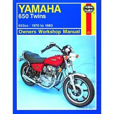 Haynes Repair Manual Yamaha 650 Twins 1970 - 1983 For Yamaha XS 650 1975 - 1981