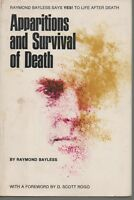 RAYMOND BAYLESS APPARITIONS AND SURVIVAL OF DEATH FIRST EDITION HB U/C DJ 1973