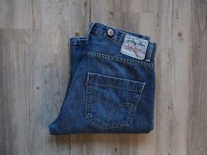 Levis 825 0075 Bootcut Jeans mit SUSPENDER BUTTONS/ HOSENTRÄGERKNÖPFEN W34 L34