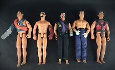 lot Rare & vintage :  HASBRO ACTION MAN 5 figurines : 1975/1992/1993/1996/1999
