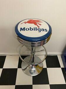 MOBILGAS MOBIL BAR STOOL ERGONOMIC ADJUSTABLE COMFORTABLE GREAT FOR CAVE