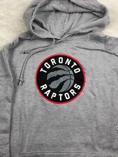 Toronto Raptors Big & Tall Pullover Gray Hoodie Men's 5XL MSRP $55 NBA