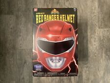 Bandai Mighty Morphin Power Rangers Red Ranger Legacy Helmet