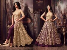 Indian anarkali salwar kameez suit designer pakistani ethnic wedding dress:a