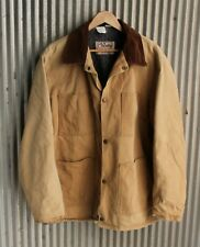 Vintage Wall's Blizzard Pruf Canvas Chore Coat w Wool Blanket Lining Size Large