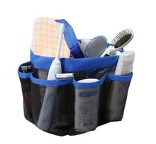 Quickly Dry Mesh Hanging Shower Tote Bag,Tough Plastic Mesh,Toiletry and Hangin