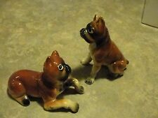 Vintage enesco, Salt & Pepper Shaker  Boxer Dogs