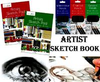 Sketch Pad A3 Book White Paper Artist Sketching Drawing Doodling Art Craft 90gsm