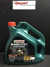 Castrol Magnatec Fully Synthetic 5W 30 A5 ENGINE OIL 4 Litre  Ford Mondeo fiesta