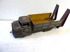 Vintage Tin Plate ROYAL ARTILLERY Lorry
