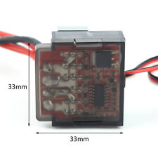 320A High Voltage ESC Brushed Speed Controller for RC 1/10 4WD On-road Car Tops