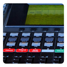 Orchestra Magnetic Labels for Yamaha 02R96 / 01V96i / DM-1000 / DM-2000 mixers
