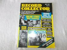 Record Collector Magazine #111 November 1988 Frankie Goes To Hollywood Tom Jones