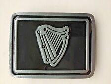Irish harp belt buckle Guiness.