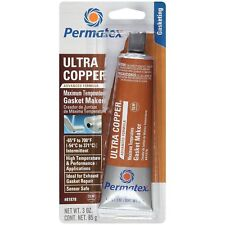 Permatex 81878 Ultra Copper Maximum Temperature RTV Silicone Gasket Maker 85g