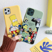 Phone Case Cool Simpson Soft TPU Cover For iPhone 11 Pro Max X XR Xs 6s 7 8 Plus