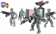 Mega Bloks Terminator Genisys T 800 Figure Pack Set New Build Action Toy