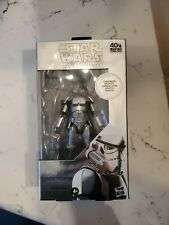 Star Wars The Black Series Carbonized Stormtrooper 6-Inch 40th annive