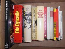 14 Bücher über China – chinesische Literatur, Kultur, Geschichte, Küche.. Paket