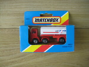 MATCHBOX SUPERFAST   MB14   TANKER TRUCK  ELF   ABSOLUTELY MINT