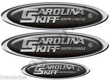 Carolina Skiff Oval Sticker Remastered for boat restoration project