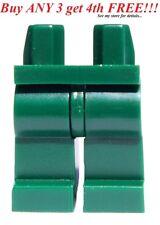 ☀️NEW Lego Legs Pants MINIFIGURE MINIFIG BOY GIRL Star Wars Plain DARK GREEN