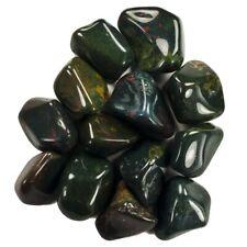 2 lbs Bloodstone Tumbled Stones - 1