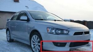 MITSUBISHI LANCER 10 X LOOK FRONT BUMPER VALANCE - SPOILER NEW