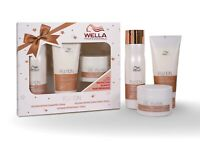 Wella Fusion Shampoo  Conditioner And Intense Repair Mask Pack