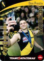 ✺Mint✺ 2019 RICHMOND TIGERS AFL Premiers Card DION PRESTIA Teamcoach
