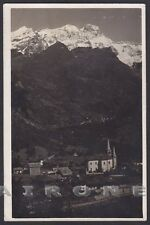 VERCELLI RIVA VALDOBBIA 70 ALAGNA - MONTE ROSA - VALSESIA Cartolina FOTOGRAFICA