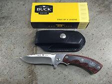 Buck 547 Open Season Folding Skinner Knife 547RWS S30V Blade Black Sheath