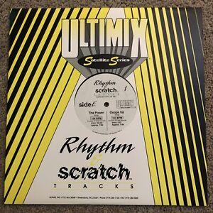 "RARE Ultimix Rhythm & Scratch E/F 12"" Vinyl PUBLIC ENEMY Bring the Noise SNAP"