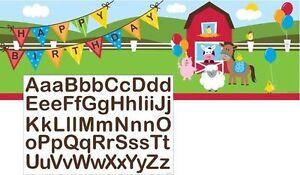 Farmhouse Fun Giant Banner - Birthday Party Supplies