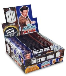 TOPPS DOCTOR WHO ALIEN ATTAX 50th Anniversary Edition single trading cards