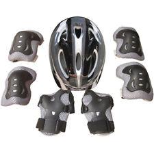 Skate Bicicleta Casco de Seguridad Rodilla Codera Kit para Niño Niña Infantil
