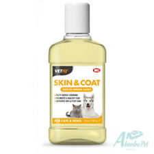 VETIQ SKIN & COAT OIL FOR CATS & DOGS soothe dry & flaky skin minimise Shedding