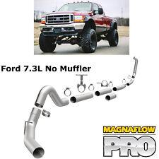 "MAGNAFLOW Turbo Back 4"" Exhaust No Muffler 99-03 Ford Powerstroke 7.3L Diesel"