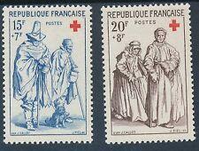 CL - TIMBRE DE FRANCE N°1140 et 1141  NEUF LUXE **