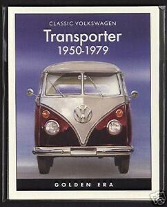 VW TRANSPORTER (1950-1979) - Collectors Cards - Type 2 Microbus De Luxe Panelvan
