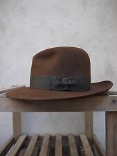 The Indiana Jones Adventurer Fedora Hat by Christys' - 100% fur felt, UK made