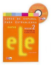 Nuevo Ele Inicial 2 Curso de Espanol para Extranjeros Cuaderno de Ejercicios / N