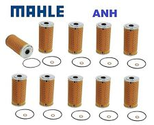 10-Pieces oem Mahle Brand Oil filter's  for Mercedes Benz