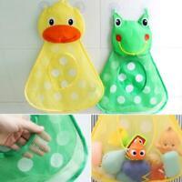 Cartoon Duck Frog Baby Kids Bath Toy Organizer Storage holder Hanging Large Bag
