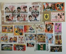 25 Different Weight Lifting Stamps Collection