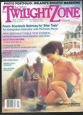 Twilight Zone V 2 # 7 1982 Science Fiction Horror Magazine Nicholas Meyer Hitler