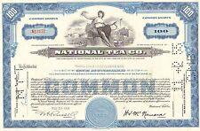 National Tea Co > 1950s Illinois stock certificate