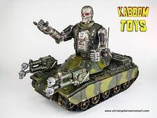 Custom The Terminator Beast Machines GI Joe MOBAT Tank 1982 HASBRO Military Camo