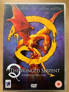 Q the Winged Serpent DVD 1982 Larry Cohen Cult Horror w/ David Carradine